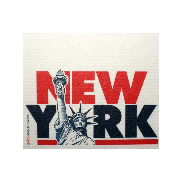 NYC Statue of Liberty One cloth Swedish Dishcloths | ECO Friendly Absorbent Cleaning Cloth