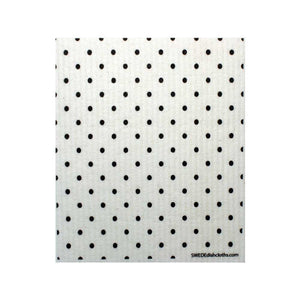 B&W Small Elipse Pattern One cloth Swedish Dishcloths | ECO Friendly Absorbent Cleaning Cloth