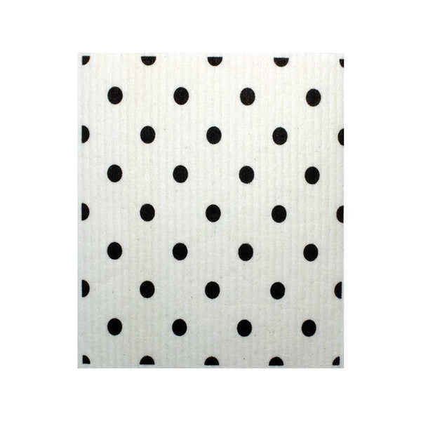 B&W Large Elipse Pattern One cloth Swedish Dishcloths | ECO Friendly Absorbent Cleaning Cloth