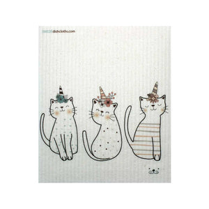 Caticorn B One cloth Swedish Dishcloths | ECO Friendly Absorbent Cleaning Cloth