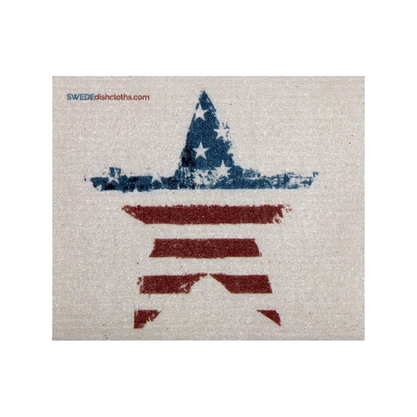 Swedish Dishcloth One Swedish Dishcloth American Star Design - 1