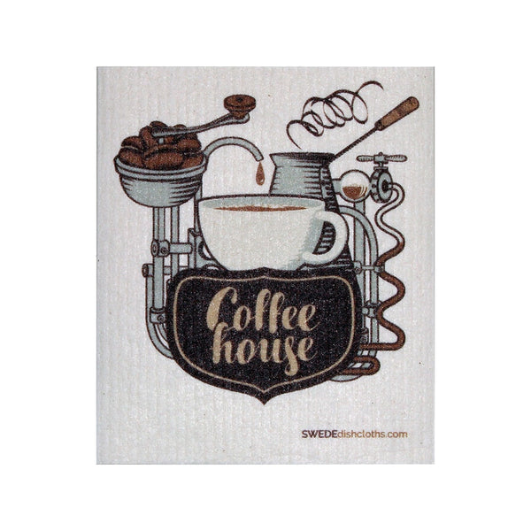 Swedish Dishcloth One Swedish Dishcloth Coffeehouse Design - 1
