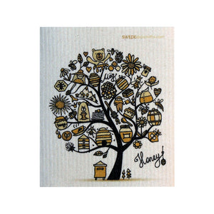 Swedish Dishcloth One Swedish Dishcloth Honeytree Design - 1