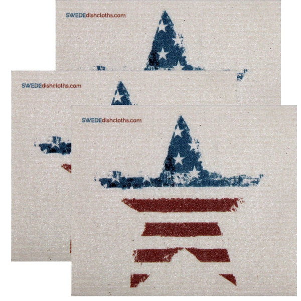 Swedish Dishcloth Set Of 3 Each Swedish Dishcloths American Star Design - 3