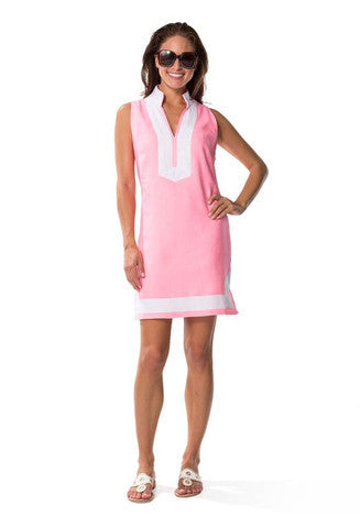 Sail to Sable Classic Tunic-Hot Pink