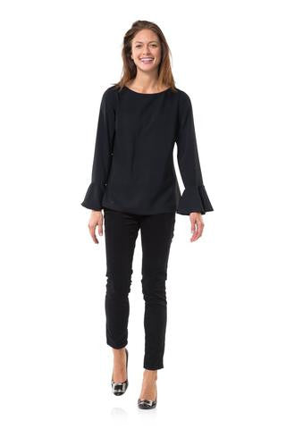 Fifth Ave Top in Black- Sail to Sable
