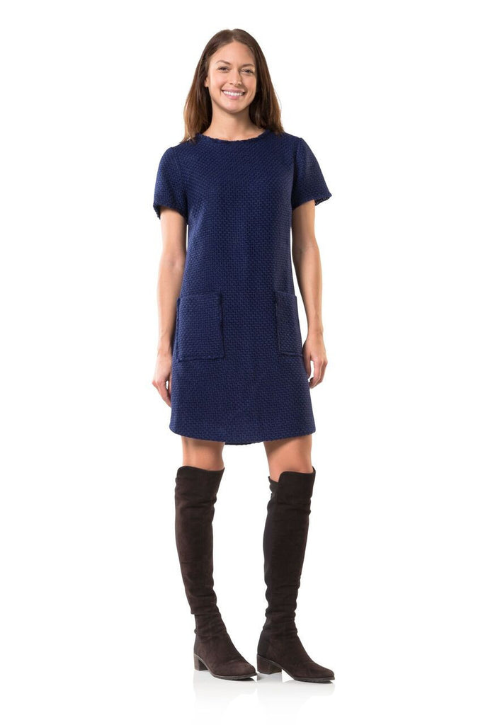 Navy in New York Dress- Sail to Sable