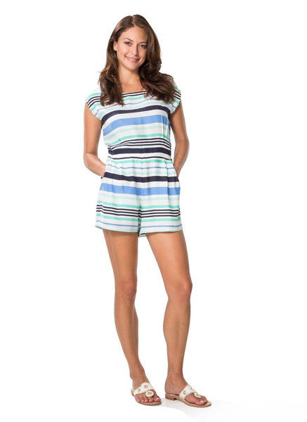 Sail To Sable Stripe Romper