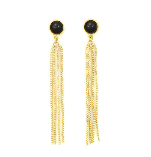 Sylvia Benson Grove Fringe Earrings