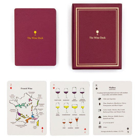 The Wine Deck - Playing Cards