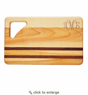 Bar Sized Wood Cutting Board