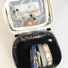 Zoe Mini Jewelry Case with Monogram