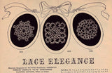 VINTAGE 1940s Crochet and Tatted Designs Star Book 30 Lovely Crocheted Lace and Tatting Patterns Doilies Trims Collars etc