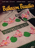 1950 Original Crochet Booklet Coats Clark No.265 Bathroom Beauties Crochet Patterns Decorative Crochet For Bath Towels,Guest Towels,Appliques Edgings