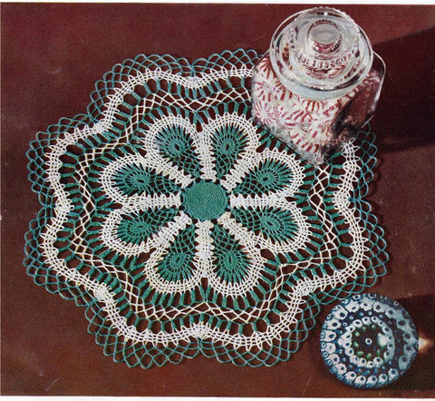 1950s Crochet Craft Book Mid Century Decor J And P Coats Clarks