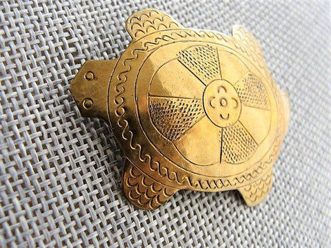 DELIGHTFUL Vintage Engraved TURTLE Brooch,Turtle Pin,Gold Turtle Brooch, Figural Brooches,Novelty Jewelry,Turtle Jewelry,Collectible Pins