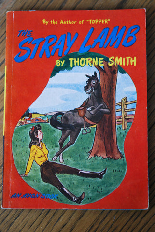 The Stray Lamb by Thorne Smith 1945 First Edition Avon Books
