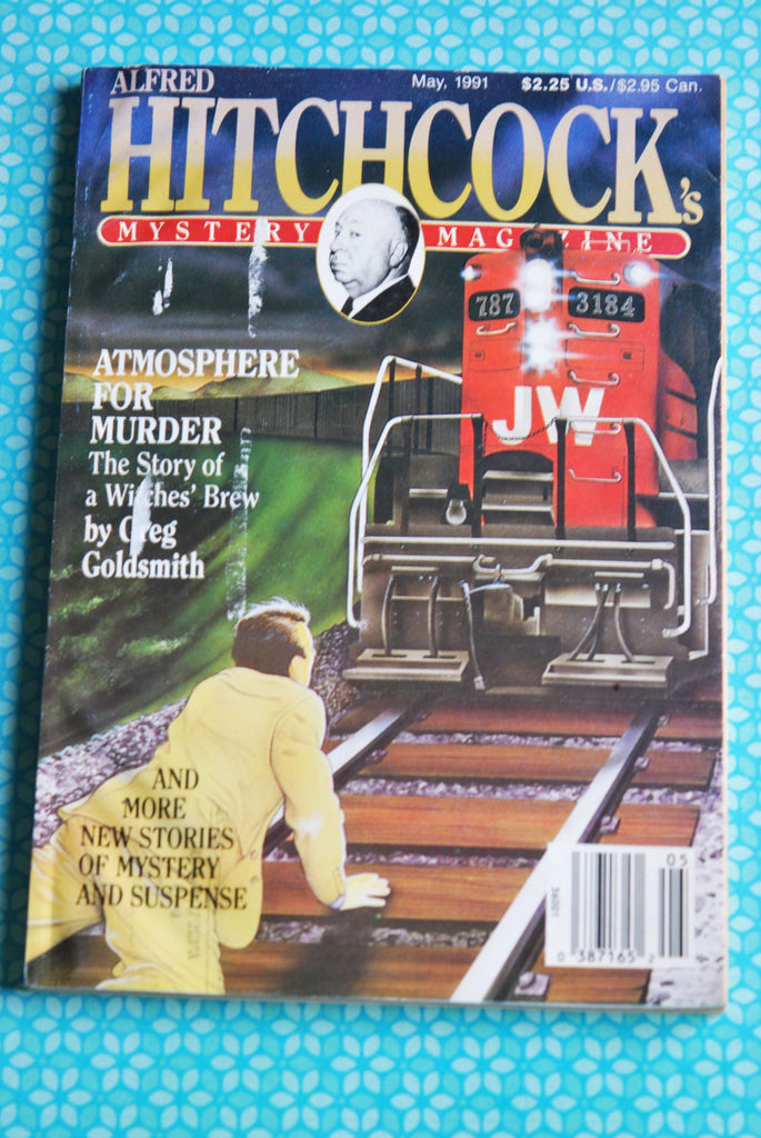 Alfred Hitchcock's Mystery Magazine May 1991 90s Short Stories
