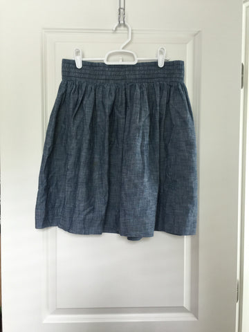 Banana Republic Blue Skirt