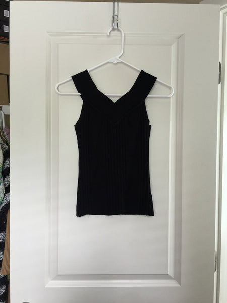Exhilaration Black Tank