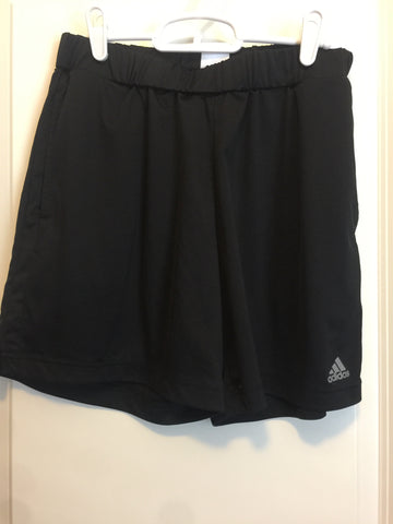 Adidas black shorts medium