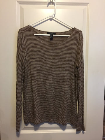 21 longsleeve shirt brown medium