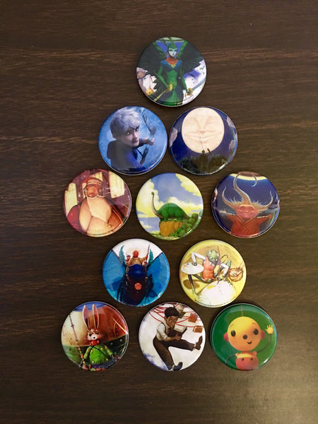 2014 - William Joyce - CALF Button Set