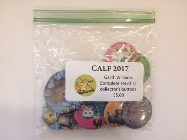 2017 - Garth Williams - CALF Button Set