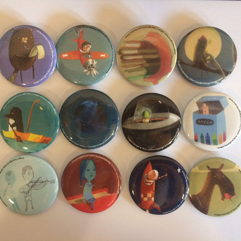 2018 - Oliver Jeffers Button Set