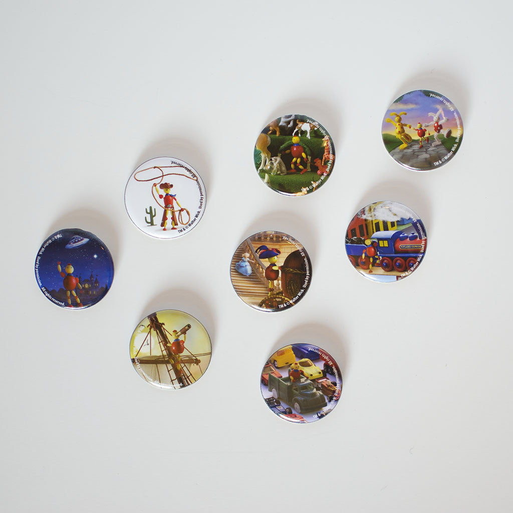 2013 - Walter Wick - CALF Button Set