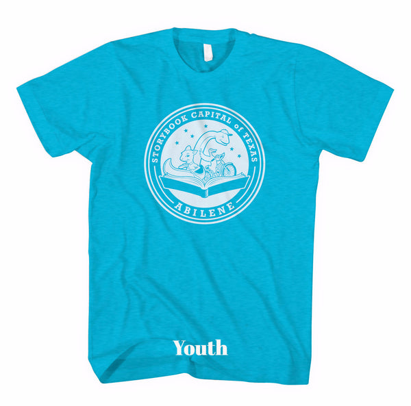 Short Sleeve Storybook Logo Shirt - Blue