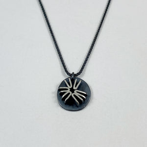 Poppy star necklace