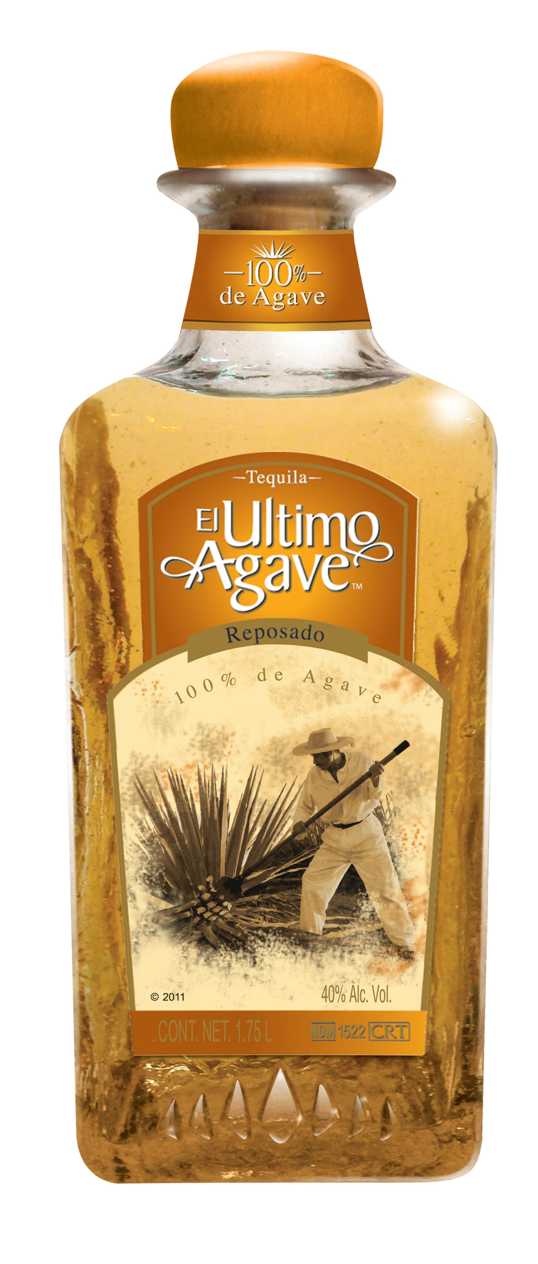Tequila El Ultimo Agave Reposado 1750 ML