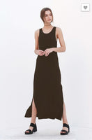DZ Brown Maxi Dress - Mocha Brown