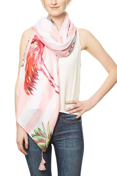 Tropical Print Scarf
