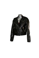 Vanessa Leather Jacket - Zip Up - Black