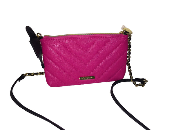 Betsey Johnson Pink Wallet Shoulder Bag
