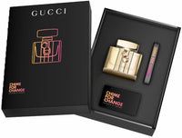 Gucci Chime For Change gold bottle black box set