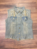 Dirty Rockstar Denim Vest