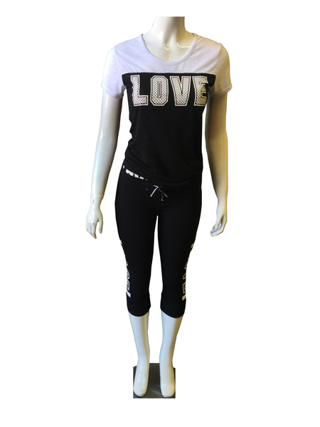 LOVE Shirt in White or All Black