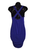 Cristina Royal Blue Cocktail Dress