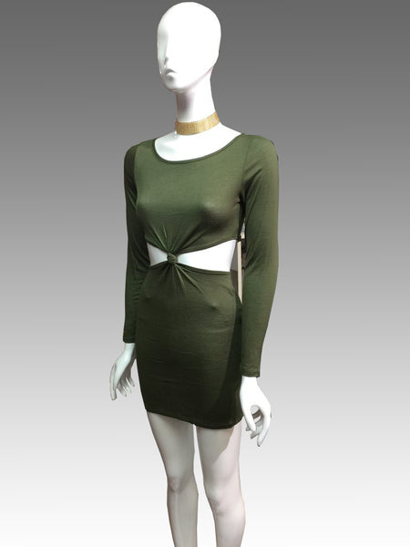Stacy Olive Green Dress