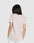 Crew Neck T-Shirt | Dusty Rose
