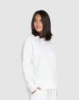 Raglan Terry Sweat | Gardenia