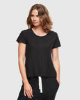 Slub T-Shirt | Black