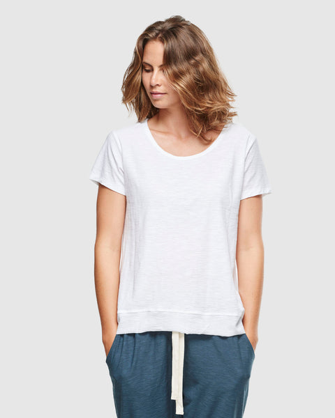 Slub T-Shirt | White