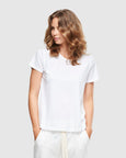 Crew Neck T-Shirt | White