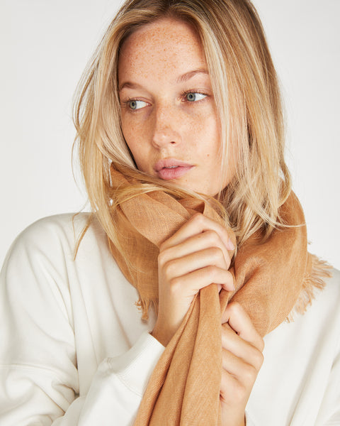 Linen Scarf | Clay