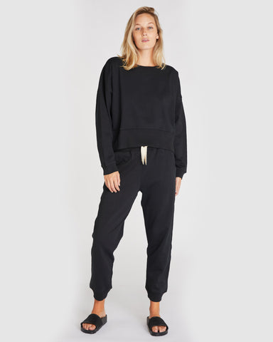 The Fleece Sweat | Squid Ink