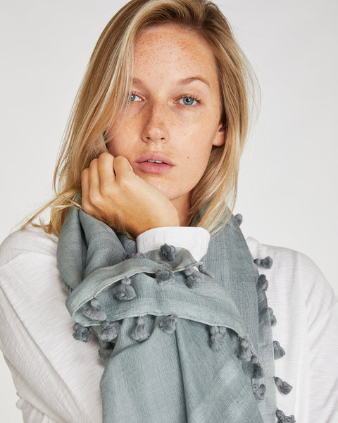 Silk & Wool Scarf | Newport